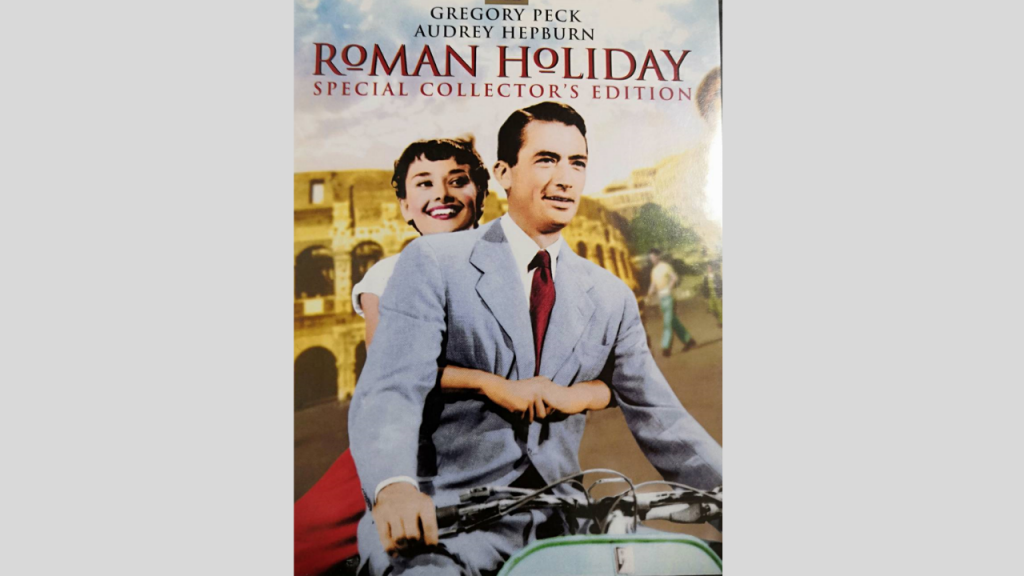 映画で英会話学習しよう『ローマの休日』